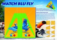 Rio activity sheet blu fly glider