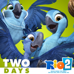 Two days Rio Bluray