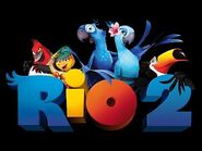 Rio 2 Promotional poster