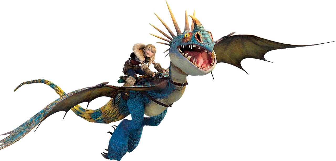 Astrid-and-Stormfly-how-to- How To Train Your Dragon 2 Astrid And ...