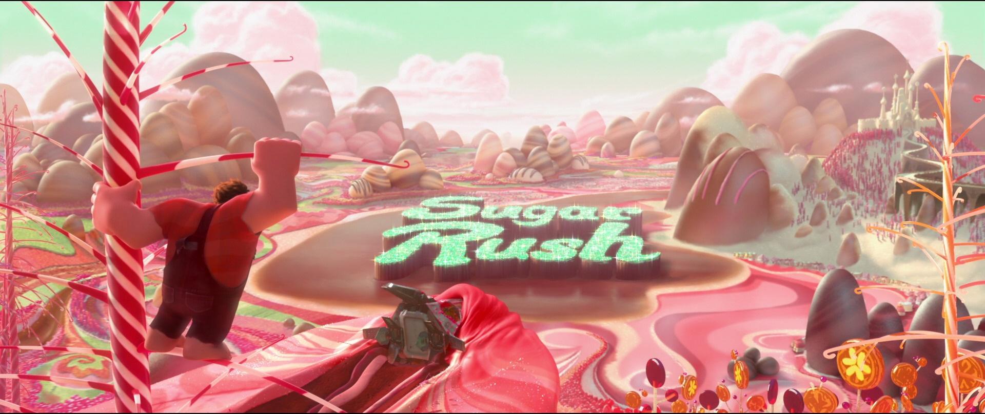 Wreck It Ralph Sugar Rush Wallpaper