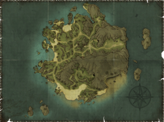 R2 The Isle of Thieves Map