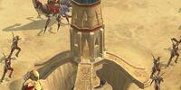 Sand spire
