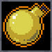 Gold-plated Bomb Icon