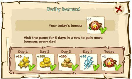 Daily bonus!