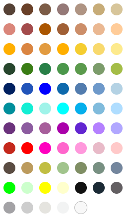 roblox skin color codes