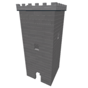 A screenshot of a ROBLOX tower.