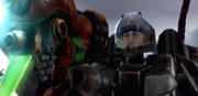 Invasion game Tasha with gun