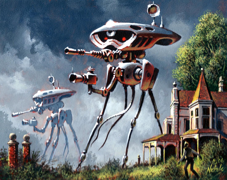 Martian Fighting Machine | Robot Supremacy Wiki | FANDOM ...