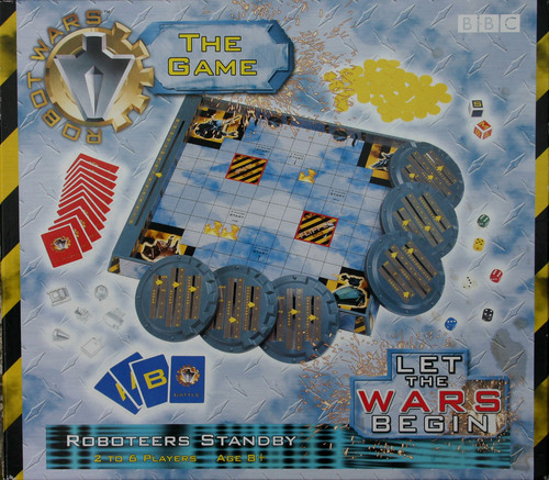 War Robot Games Robot Wars Board Game