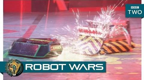 Carbide vs Behemoth - Robot Wars Episode 1 Highlight - BBC Two