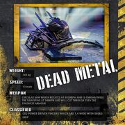 Dead Metal stat card