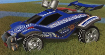 Tribal decal orange rare