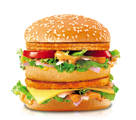 Mcdonald's Chicken & Veg Maharaja Mac Grilled Patty – Welcome to ...