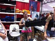 Kathleen at 2015 comic con