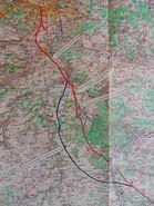 A6 1955 Fontainebleau variante Ouest