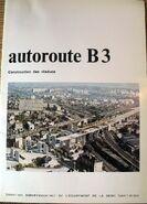 B3 Sud 1973 - Plaquette 1