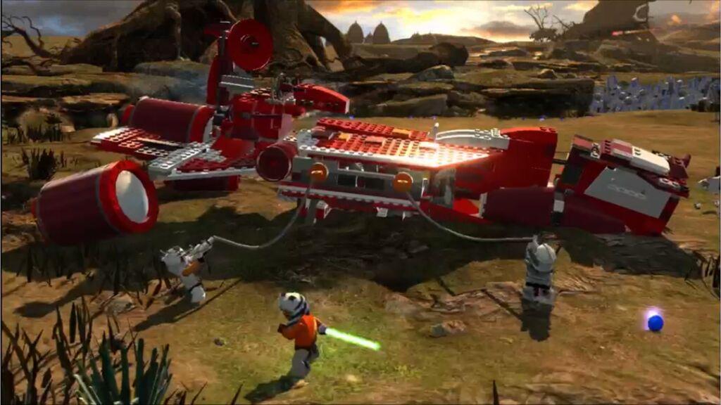 Как Игру Lego Star Wars 1