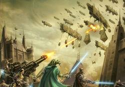 Battle of Coruscant (Great Hyperspace War).jpg