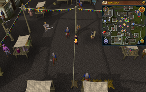 Scan clue East Ardougne centre of market