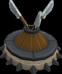 Gladiator's arsenal