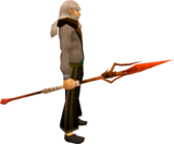 Iban's staff equipped