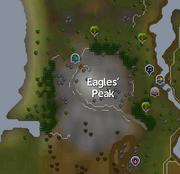 Eagles' Peak (location) map