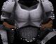 Steel chainbody detail