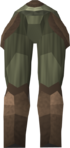Protoleather chaps detail