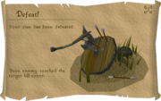 Clan Wars Defeat