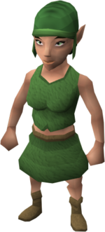 Gnome woman