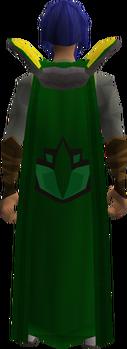 Retro herblore cape equipped