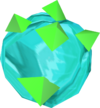 Crystal geode detail