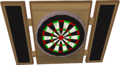Dartboard detail
