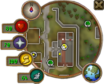 Hp in minimap