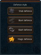 Shield interface