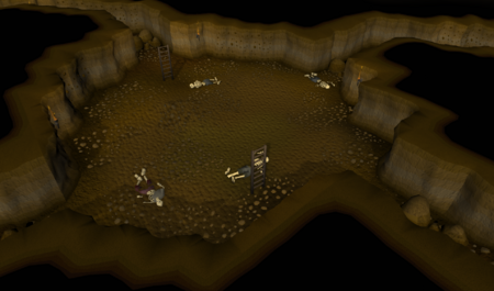 Castle Wars dungeon old