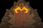Zamorak icon built