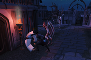 Punching the blood trader