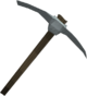 Gorgonite pickaxe detail