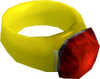 Ruby ring (i) detail