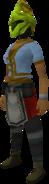 Rune heraldic helm (Jogre) equipped