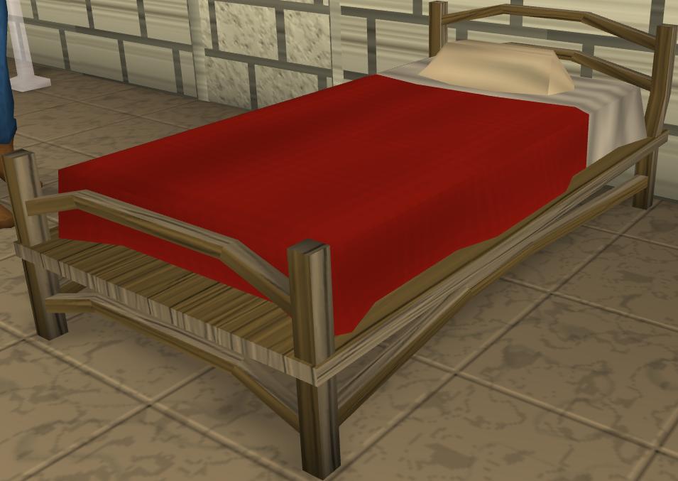 image teak bed built png runescape wiki fandom Money Border Clip Art Money Clip Art