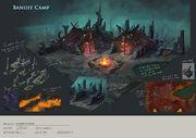 Bandit Camp concept art