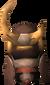 Superior tetsu helm (broken) detail