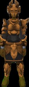 Corrupt dragon set (sk) equipped