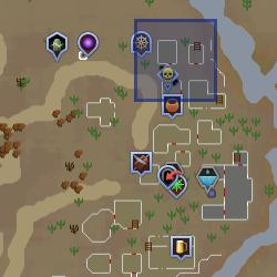 Cowardly Bandit location