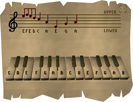 Music sheet interface