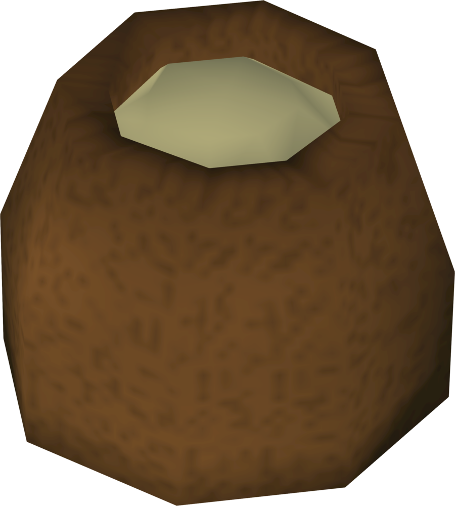 Pot of wheat detail