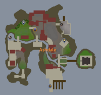 Ashdale map